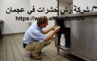 شركة رش حشرات في عجمان